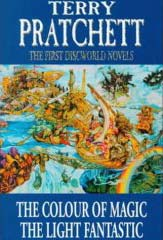 Terry Pratchett: The Colour of Magic and the Light Fantastic